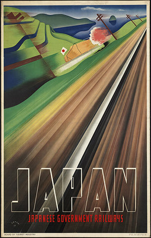 Wall Art, Japan Railways, - PosterGully