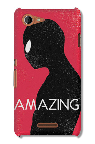 Amazing Spiderman Minimal | Sony Xperia E3 Cases