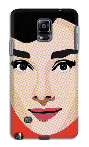 Audrey Hepburn Pop Art | Samsung Galaxy Note 4 Cases