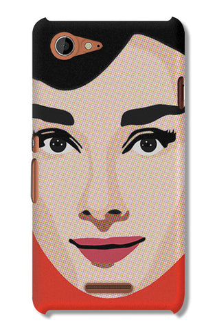 Audrey Hepburn Pop Art | Sony Xperia E3 Cases