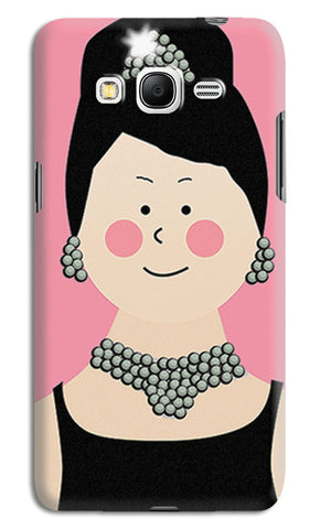 Audrey Hepburn Breakfast At Tiffany | Samsung Galaxy Grand Prime Cases
