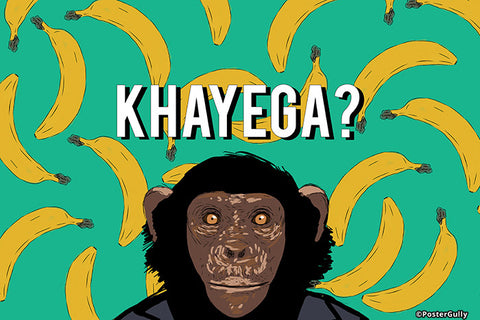Wall Art, Khayega Humour, - PosterGully - 1