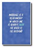 Wall Art, Marriage Humour, - PosterGully - 3