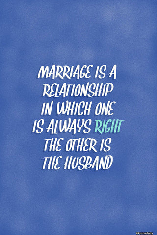 Brand New Designs, Marriage Humour, - PosterGully - 1