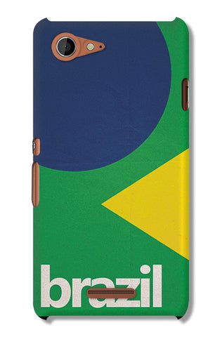 Brazil Soccer Team | Sony Xperia E3 Cases