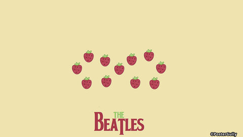 Wall Art, Strawberry Fields Forever Beatles | Artist: Revant Mahajan, - PosterGully - 1