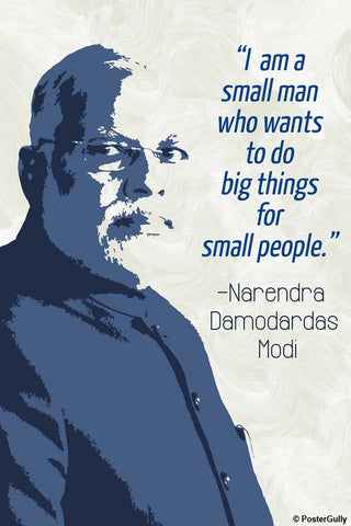 Brand New Designs, Narendra Modi Artwork | Artist: Pratyaksh, - PosterGully - 1
