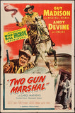 Brand New Designs, Two Gun Marshal | Retro Movie Poster, - PosterGully - 1