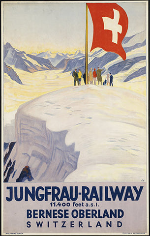 Wall Art, Jungfrau Railway, - PosterGully