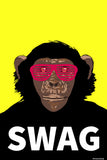 Brand New Designs, Swag Monkey Humour, - PosterGully - 1