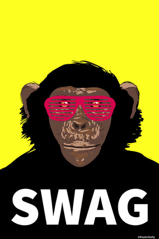 Wall Art, Swag Monkey Humour, - PosterGully - 1