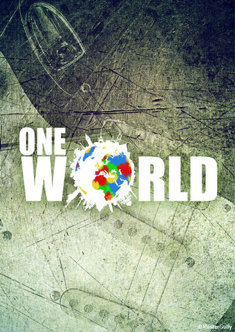 Brand New Designs, One World Artwork | Artist: Pulkit Taneja, - PosterGully - 1