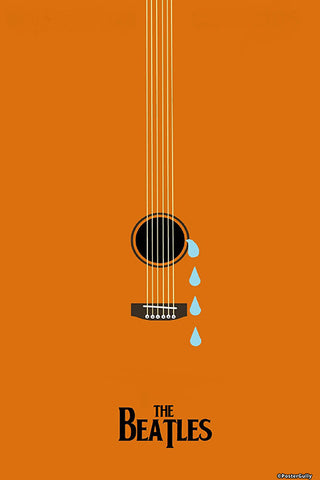 Wall Art, While My Guitar Gently Weeps | Artist: Revant Mahajan, - PosterGully - 1
