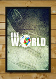 Wall Art, One World Artwork | Artist: Pulkit Taneja, - PosterGully - 2