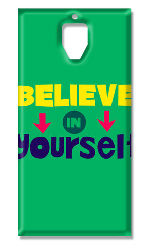 Believe In Yourself Typography | OnePlus 3 / 3T Cases