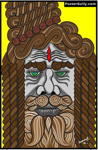 Brand New Designs, Baba Ji Artwork | Artist: Dishant Bhatia, - PosterGully