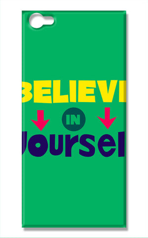 Believe In Yourself Typography | Vivo V5 Cases