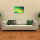 Canvas Art Prints, Abstract Flight Stretched Canvas Print, - PosterGully - 3
