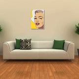 Canvas Art Prints, Glamour Stretched Canvas Print, - PosterGully - 3