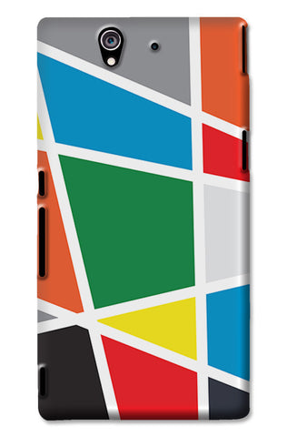Abstract Colorful Shapes | Sony Xperia Z3 Cases