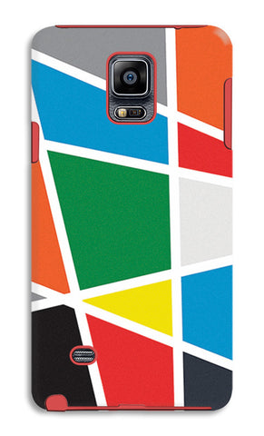 Abstract Colorful Shapes | Samsung Galaxy Note 4 Tough Cases
