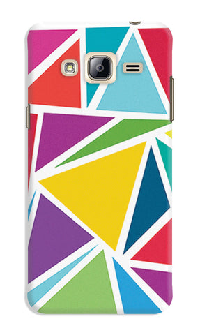 Abstract Colorful Triangles | Samsung Galaxy J3 (2016) Cases