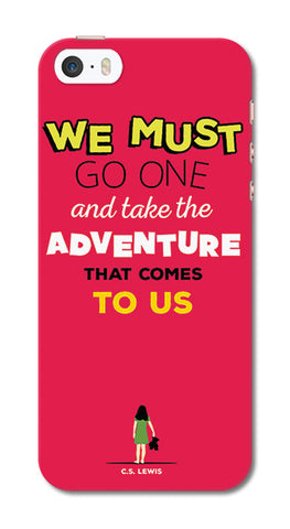 Adventures Narnia Typography | iPhone SE Cases