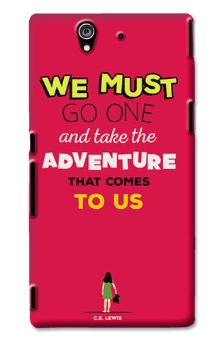 Adventures Narnia Typography | Sony Xperia Z3 Cases