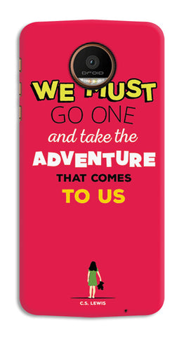 Adventures Narnia Typography | Moto Z Force Cases