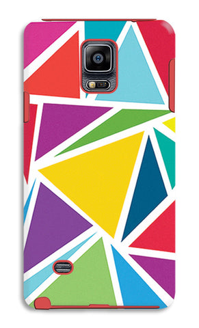 Abstract Colorful Triangles | Samsung Galaxy Note 4 Tough Cases