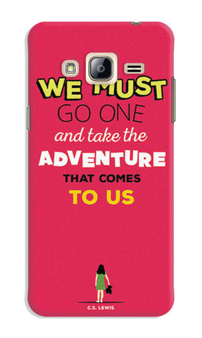 Adventures Narnia Typography | Samsung Galaxy J3 (2016) Cases