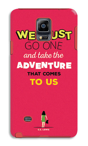 Adventures Narnia Typography | Samsung Galaxy Note 4 Tough Cases