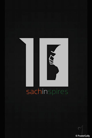 Brand New Designs, Sachin In Spires Artwork | Artist: MyArtini Bar, - PosterGully - 1
