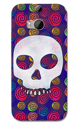 Candy Skull Artwork | HTC One M8 Cases