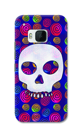 Candy Skull Artwork | HTC One M9 Cases