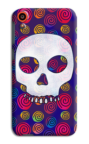 Candy Skull Artwork | HTC Desire 820 Cases