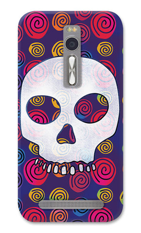 Candy Skull Artwork | Asus Zenfone 2 Cases