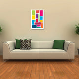 Canvas Art Prints, Panes Stretched Canvas Print, - PosterGully - 3