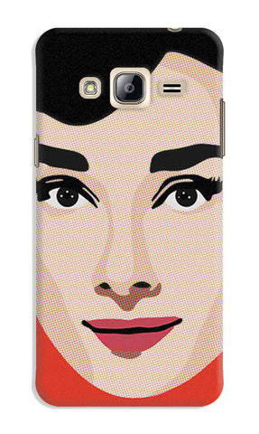 Audrey Hepburn Pop Art | Samsung Galaxy J3 (2016) Cases