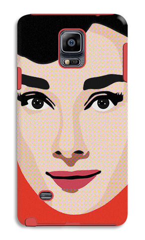 Audrey Hepburn Pop Art | Samsung Galaxy Note 4 Tough Cases