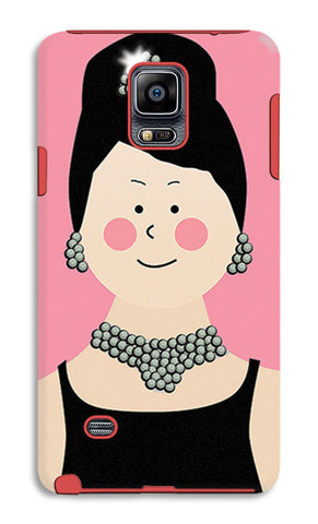 Audrey Hepburn Breakfast At Tiffany | Samsung Galaxy Note 4 Tough Cases