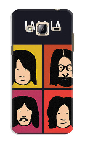 Beatles La La La Pop Art | Samsung Galaxy J3 (2016) Cases