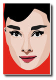 Canvas Art Prints, Audrey Hepburn Stretched Canvas Print, - PosterGully - 1