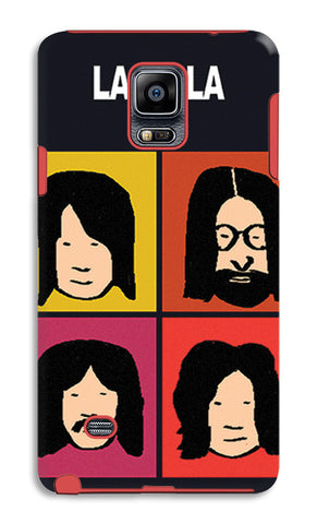 Beatles La La La Pop Art | Samsung Galaxy Note 4 Tough Cases