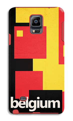 Belgium Soccer Team | Samsung Galaxy Note 4 Tough Cases