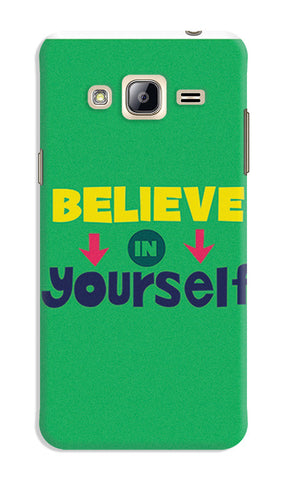 Believe In Yourself Typography | Samsung Galaxy J3 (2016) Cases