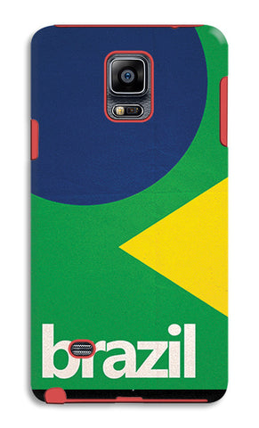 Brazil Soccer Team | Samsung Galaxy Note 4 Tough Cases