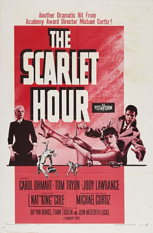 Brand New Designs, The Scarlet Hour | Retro Movie Poster, - PosterGully - 1