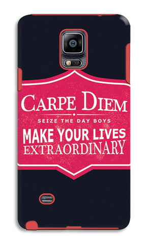 Carpe Diem Dead Poets Society | Samsung Galaxy Note 4 Tough Cases