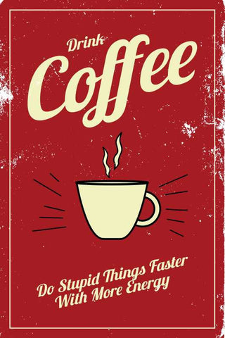 Coffee Energy Vintage |  PosterGully Specials
